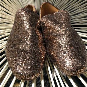 Ted Baker London Gold Sequin Loafer